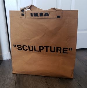 Virgil Abloh x IKEA Sculpture Markerad Tote